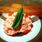 Fraises basilic et mousse fraises tagada