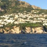 Praiano from the sea