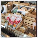 Designer cheese counter