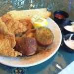 Taste of New Orleans Sampler Platter