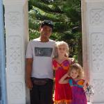 visite d'un temple avec komang