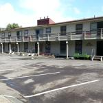Back View of Motel
