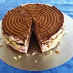 Cranberry with Hazelnut Cake