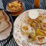 Bigos & Bread with Pirogi Sampler