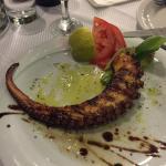 Octopus starter at Sirines