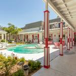 Main Entrance/Outdoor Pool