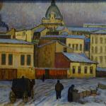 Dumitru Ghiaţă: Winter Landscape