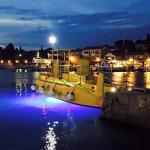 Semisubmarine by night