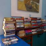 I tidied the books .. I wonder if they will remain like this ?  lol