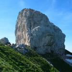 """Le """"Fauteuil"""", Le sommet de la Tournette"""