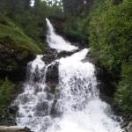 Le cascate tra Campo e Riva.