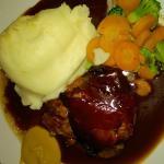 Steak Olde English in Port Wine