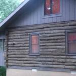 side of cabin 10