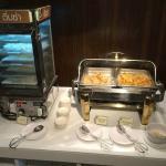 Spring rolls & deep fried wonton stuffed sausage