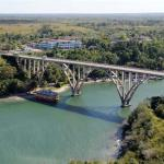 Crossing the Bacunuyagu Bridge to get to Havana from Matanzas with Isbel Sanchez Havana History