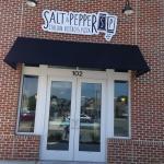 Entrance to Salt and Pepper Bistro
