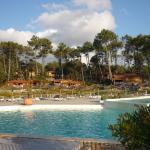 piscine et chalets