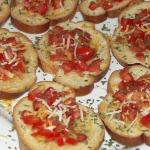 Everyone's favorite: Bruschetta!