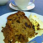 Dorset Apple cake with clotted cream - a good bet.