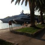 Cavtat offers numerous restuarants and millionaires yachts to admire. (144209030)