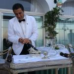 White dinner jacket service all day and night