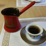 My Arabic Coffee at Cedar Valley Cafe