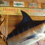 Hobbies Hideaway sign