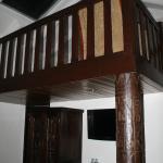 Balcon dentro del cuarto