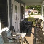 Nice porch seating