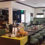 In Hotel restaurant