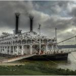 The American Queen at Paducah Riverfront just a few steps distant.