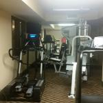 Da Bomb workout room: new, top of the line equipment & everything works!
