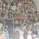 detalle del mural de Diego Rivera