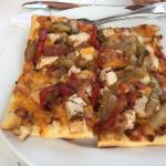 BBQ Flatbread Pizza-personal size