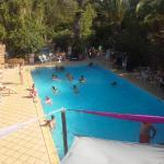 piscine vue du solarium