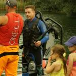 Getting ready to jump (photo compliments of JetLev UK)