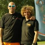 Two of the team (photo compliments of JetLev UK)