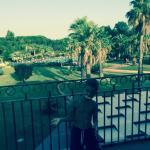 situer au calme entourer de palmier et d'un environnement idéal pour se reposer joli appartement