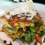 Crab and Sweet Corn Fritters