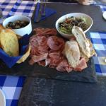 Delicious anti-pasti platter