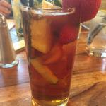 Good looking glass of Pimms