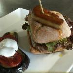 Hamburger au foie gras maison