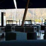 Alfresco bar with relaxing views of the marina