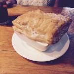 Steamed little clams, chicken Pot Pie  Pirate on Mondays
