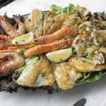 l'assiette fruits de mer et poissons