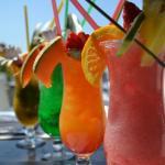 Cocktails frais et variés