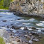 The Gallatin River