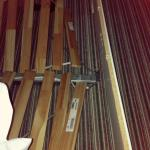 Collapsed and broken bed