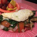 Shelley's Veggie omelette