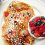 Strawberry/Blueberry Pancakes